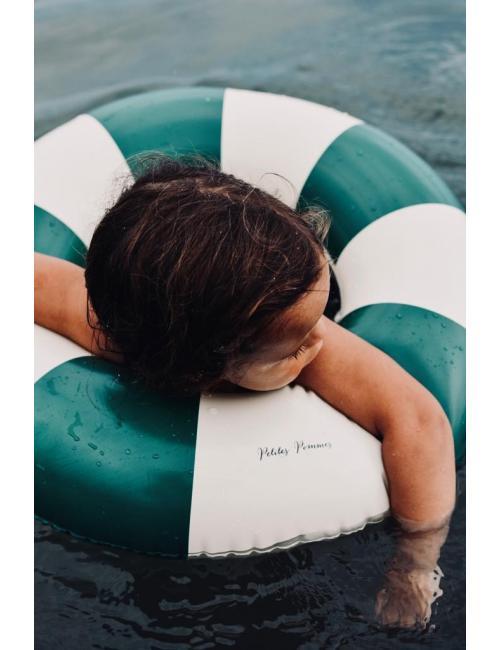 Petites Pommes swim ring | Oxford Green