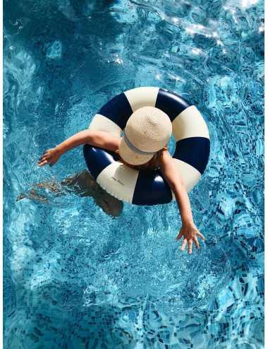Petites Pommes swim ring | Cannes Blue