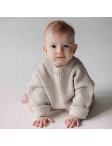 Merino sweater | Milk