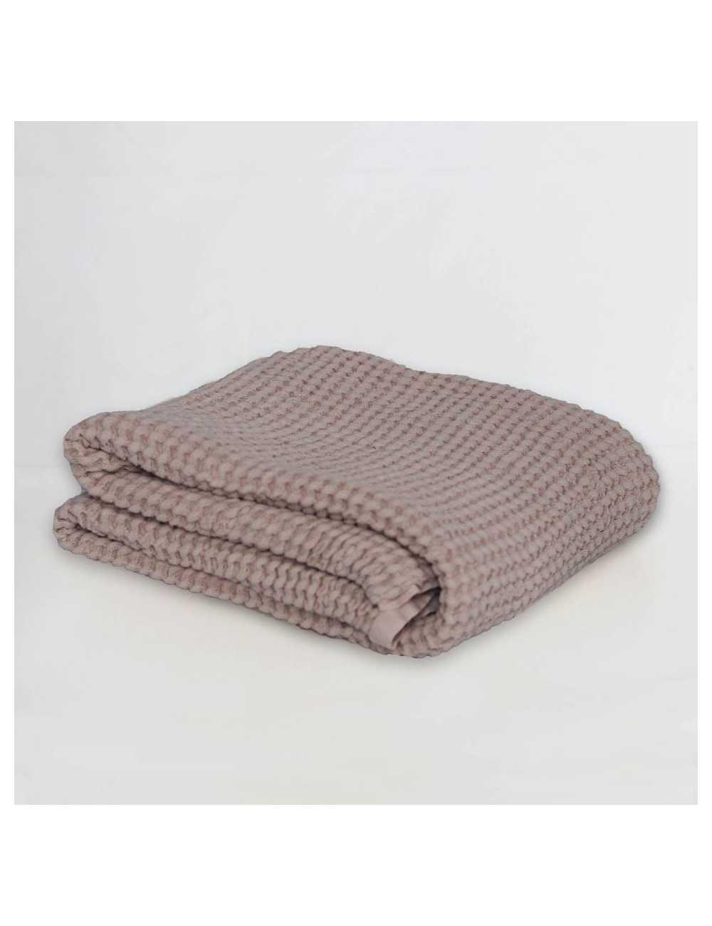 Mallino waffle blanket | powder pinktest