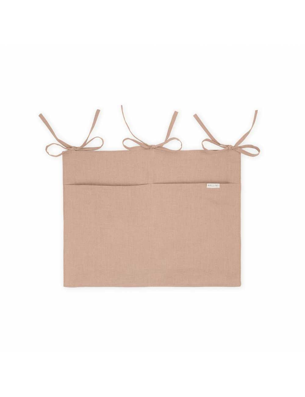 Mallino linen crib organiser | cinnamontest