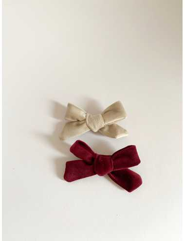 Bow hair clip Little Valerie