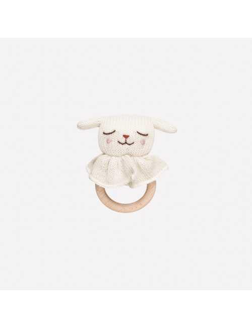 Teething ring   Lamb