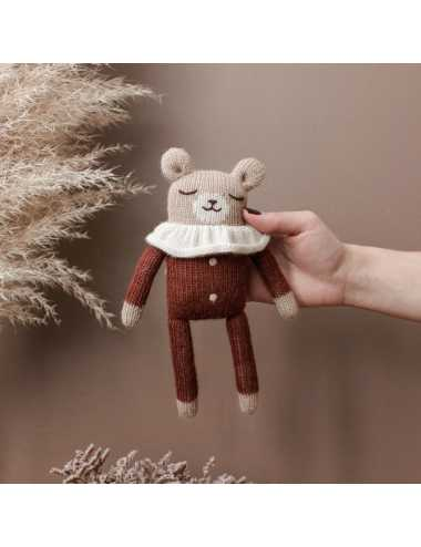 Teddy knit toy | Sienna pyjamas