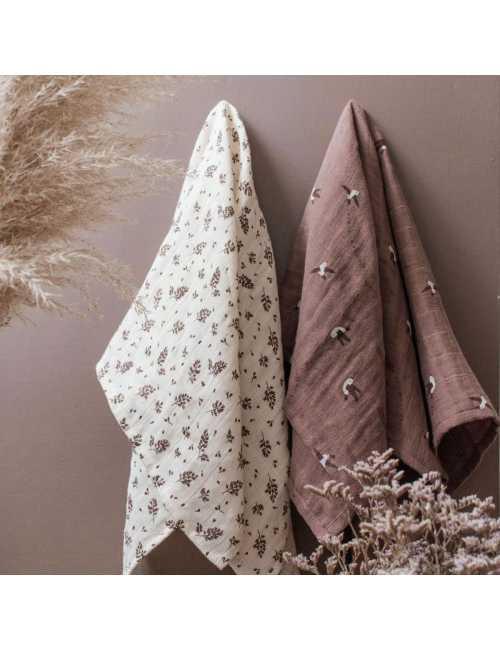 Muslin cloth | Love print