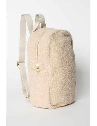 Studio Noos mini-chunky backpack | ecru