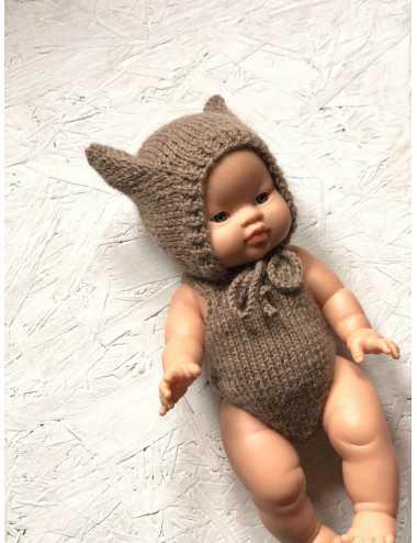 Clothes for Minikane dolls 34 cm | Kitty hat