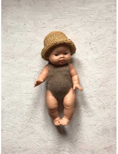 Clothes for Minikane dolls 34 cm | knitted romper