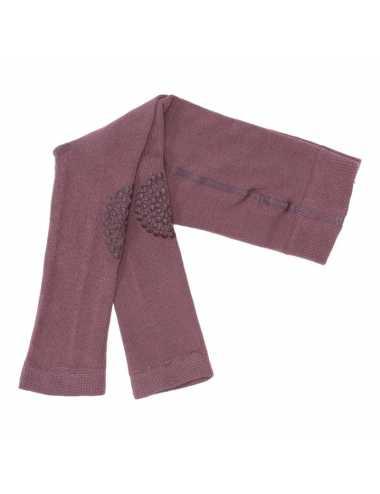 Crawling leggings | misty plum