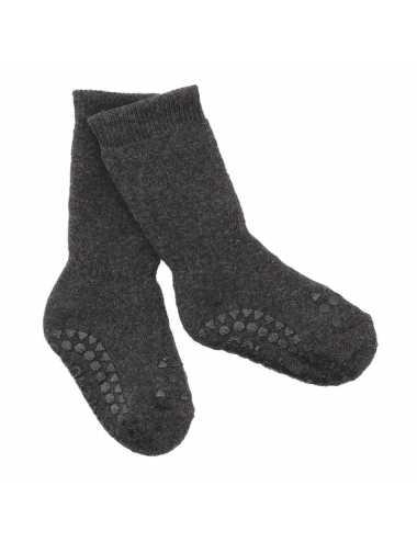 Non-slip socks | dark grey