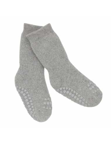 Non-slip socks | light grey