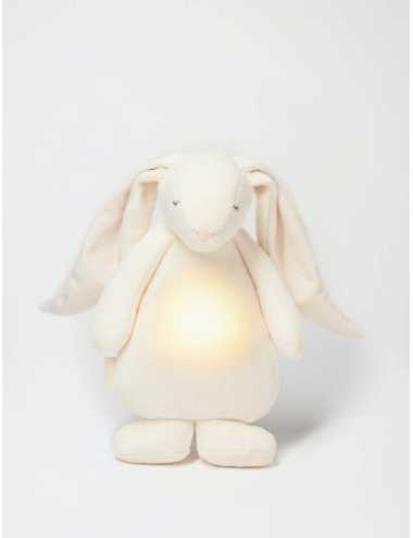 Moonie humming rabbit with a lamp | Cream