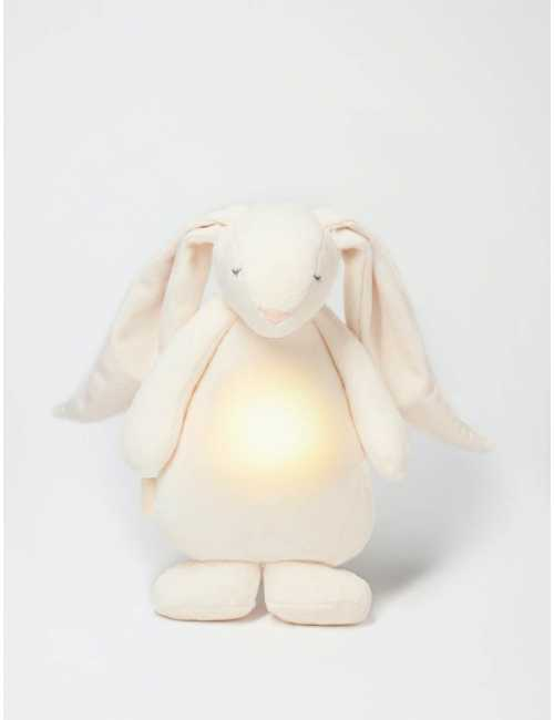 Moonie humming rabbit with a lamp   Cream