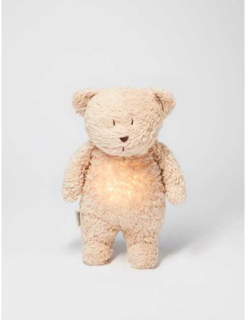 Moonie humming bear with a lamp   Sand