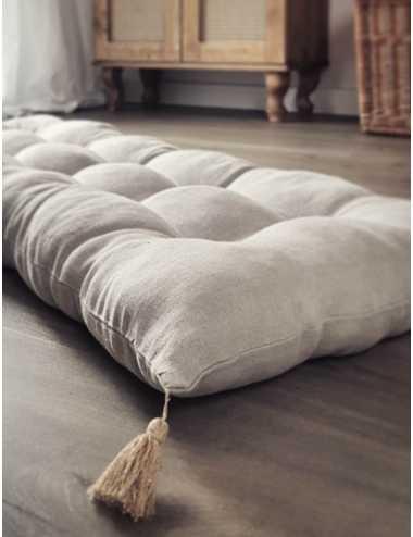 Linen mattress   natural