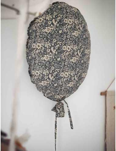 Ballon de décoration   fleurs vintage
