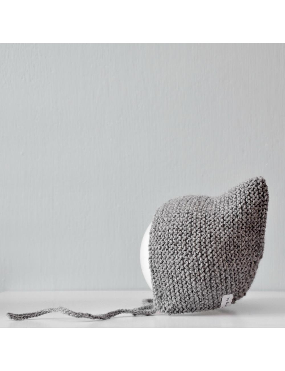 Alpaca wool baby bonnet | greytest