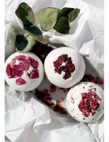 Bath bomb | raspberry
