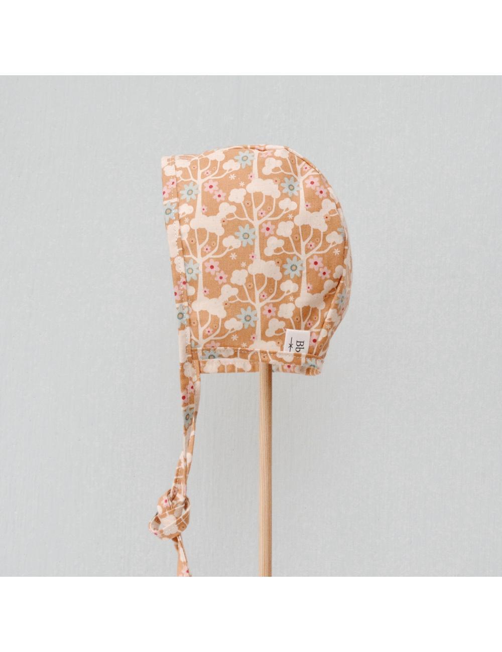 Cotton baby bonnet | naturetest