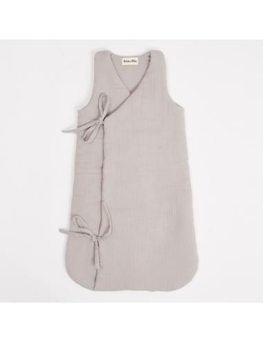 Muslin sleeping bag | grey