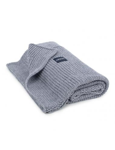 Knitted baby blanket | grey