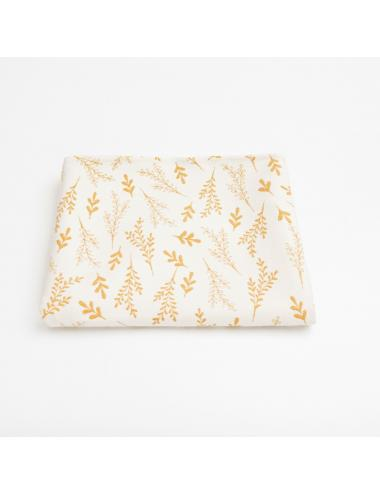 Jacquard baby blanket | orchard