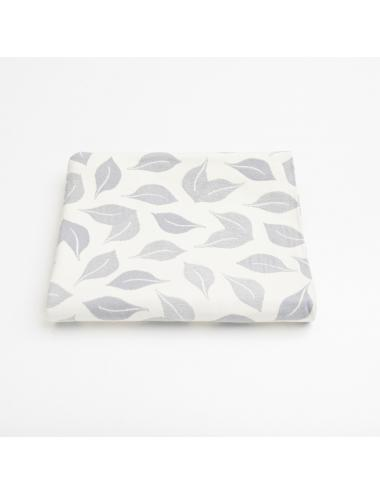 Jacquard baby blanket | forest (blue)