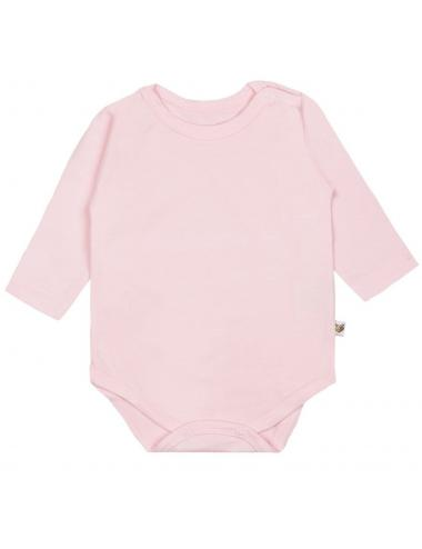 Baby long-sleeve bodysuit | pink