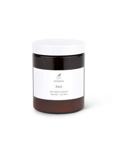 Bougie de soja et huiles essentielles 180ml | Pax