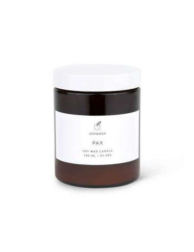 Essential oil + soy wax candle 180ml | Pax