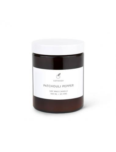 Essential oil + soy wax candle 180 | Patchouli Pepper