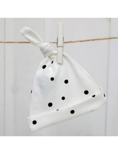 Newborn hats 2-pack | white and black
