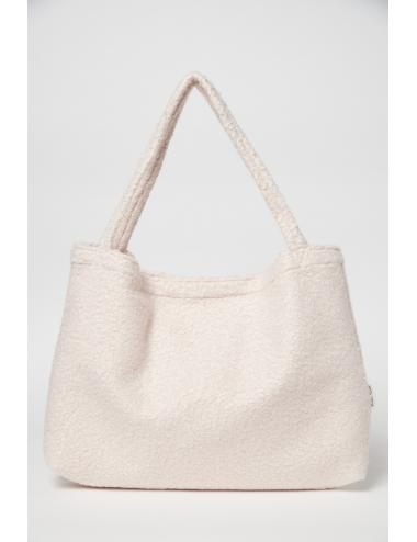 Noos Studio diaper bag | bouclé